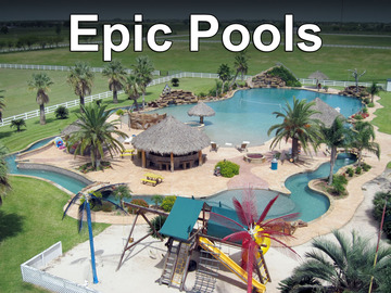 Epic pools show page tv listing for Epic pool show